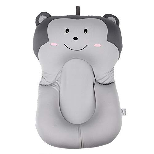 Almohada de baño para bebés Almohada para tumbonas para bebés Cojín de aire flotante(gray, Monkey without hook)