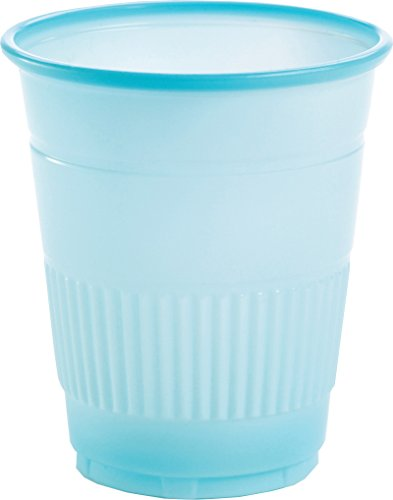 Primo Dental Products PCBL Plastic Cups, 5 oz, Blue (Pack of 1000)