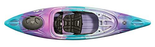 Perception Joyride 10 | Sit Inside Kayak for Adults and Kids | Recreational and Multi-Water Kayak with Selfie Slot | 10' | Funkadelic