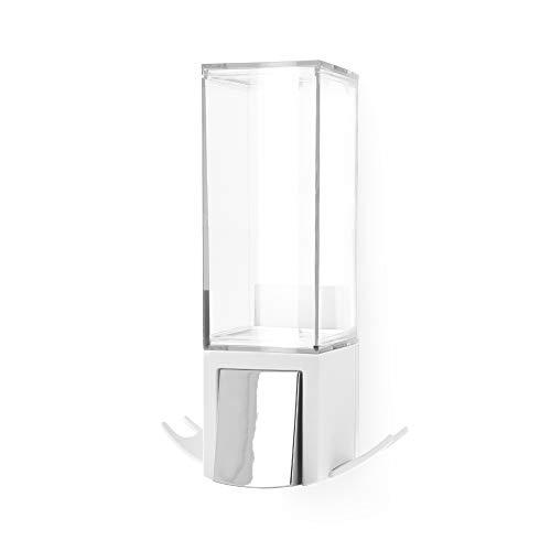 Compactor Einzel-Seifenspender, Langlebiges ABS, Weiß, 12,1 x 12,1 x 20,6 cm, Produktcode RAN9653