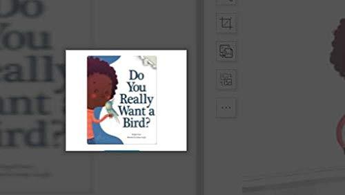 Do you really want a bird: kids bookshelf (English Edition)