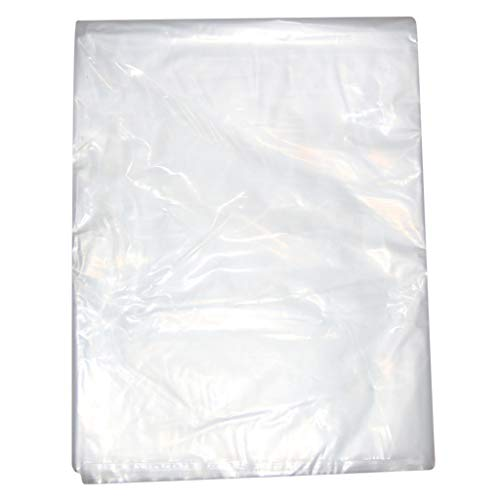 Greenhouse Plastic Film Clear Garden Grow Planting Polyethylene Cover Clear Heavy Duty Polythene Plastic Sheeting Garden DIY Material for Greenhouse Roof Panels Foil Hothouse Mosquito Vegetable Fruit