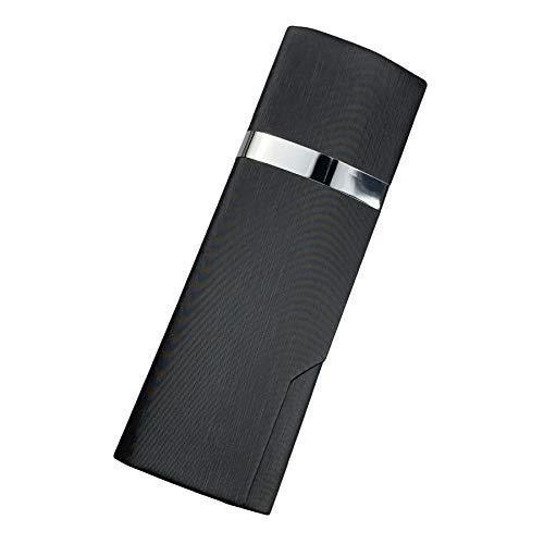 プルームテック プラス ケース (ブラック) PloomTech Plus カバー スリム シンプル 無地 コンパクト キャリングケース