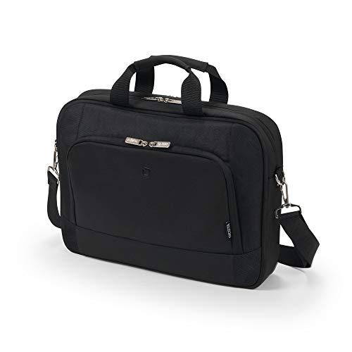 Dicota Top Traveller BASE 17.3' Messenger Bag Black - Laptop Bags (17.3' Messenger, Shoulder Strap, 790g, Black)