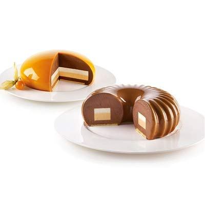 Silikomart Backform Cake Pops Mini-Eisform Finger Food Classic inkl 50 Stiele