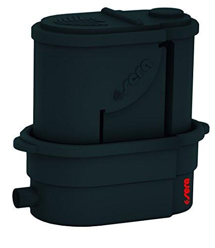 sera 08651 KOI Professional 24000 Teichfilter (Basisvariante) mit 30 l sera siporax pond 25 mm und Matala-Matte