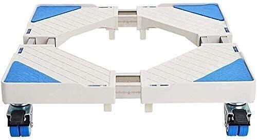 TabloKanvas Moving Caster Wheels Appliance Wheels Adjustable Freezer Trolley Refrigerator Base (Color : As Shown, Size : 4 Caster)