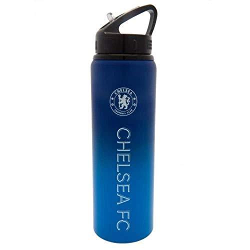 Chelsea Fc Aluminium Sports Water Drinks Bottle Fade Design XL