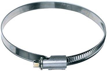 Collier de serrage en acier chromé pour tuyau d'évacuation de 100 mm de diamètre 90-110 mm