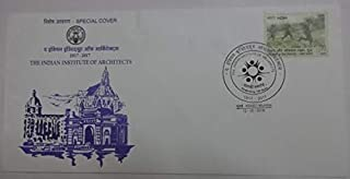 Sams Shopping Indian Special Cover The Indian Institute of Architects Stamp
