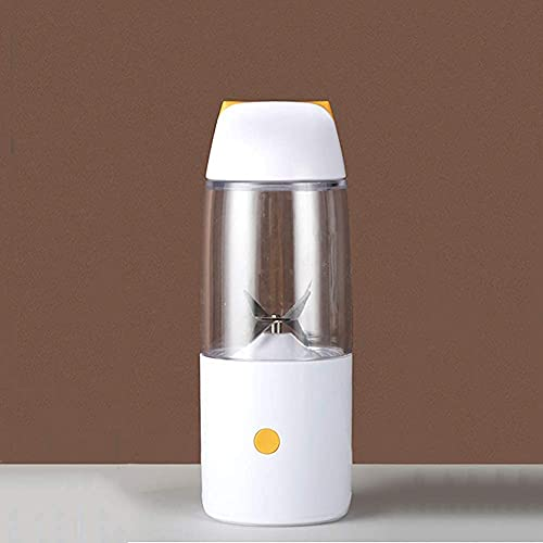 LITINGT Vaso de Agua Exprimidor eléctrico Batidora portátil Recargable USB Vaso Licuadora...
