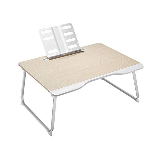 Vibrerende bureau/opbergtafel, eenvoudige laptoptafel, opvouwbaar, slaapstoel voor studenten, draagbaar, leren, met handbescherming, 3 specificaties. Learning Product Numbers