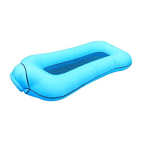 Yousha Luchtmatras, 1 stuks, zomer, zwembad en zwembad, opblaasbare aubergine matras, zwemmen, eiland, koud water, party speelgoed