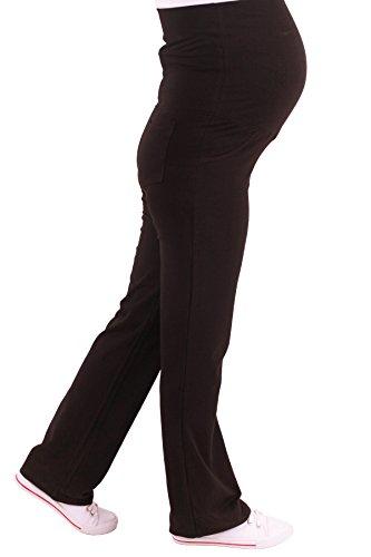 Verkauft von MamiMode Schwangerschaftsjogginghose | Sporthose | Schwangerschaftshose | Umstandsmode (M, Schwarz)