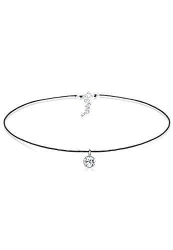 Elli Halskette Damen Choker mit Swarovski® Kristalle in 925 Sterling Silber