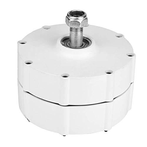 Jimfoty Windgenerator, 600 U/min 24 V / 48 V Permanentmagnet-Generator 3 Phasen Lichtmaschine Windkraftanlage Generator(500W 24V)