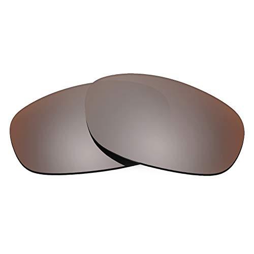 Revant Lentes de Repuesto Compatibles con Gafas de Sol Oakley Hatchet, No Polarizados, Bronce MirrorShield