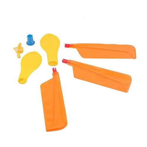 Lankater 1pc Balloon Elicottero di Volo del Giocattolo, Giocare All\'aperto Educativi Bambini Gonfiabili Giocattoli Festa di Compleanno di Natale Borsa Stocking Filler Toy