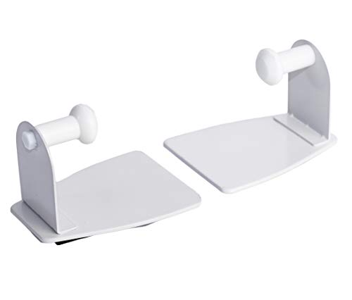 EhomeA2Z Magnetic Paper Towel Holder Heavy Duty Steel White 1
