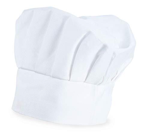 My Custom Style Kochmütze verstellbar, Weiß, Baumwolle, Nicht gedruckt