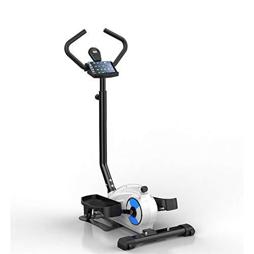 BZLLW Bicicletas estáticas de Spinning, Bicicletas de Ejercicios, Entrenador Paso a Paso elíptico 2 en 1