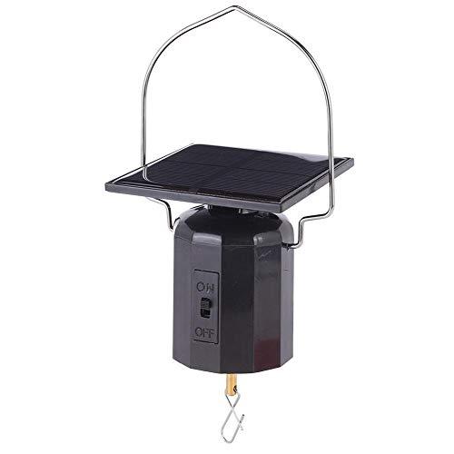 eecoo LED Solar Windspiele - Solarenergie Umweltfreundliche Motor Windspiele hängen - tragbare wasserdichte Outdoor Windspiele hängen für Patio Garden Home