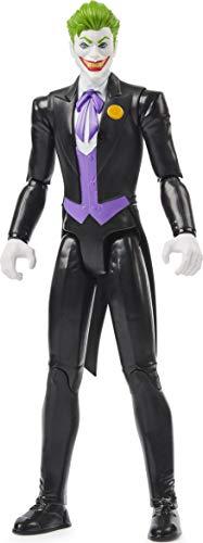 DC Comics Batman 12 Inch The Joker Action Figure (Black Suit), for Kids Aged 3 and up