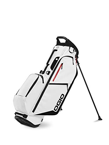 %30 OFF! OGIO 2020 Fuse 4 Stand Bag (White, Single Strap)
