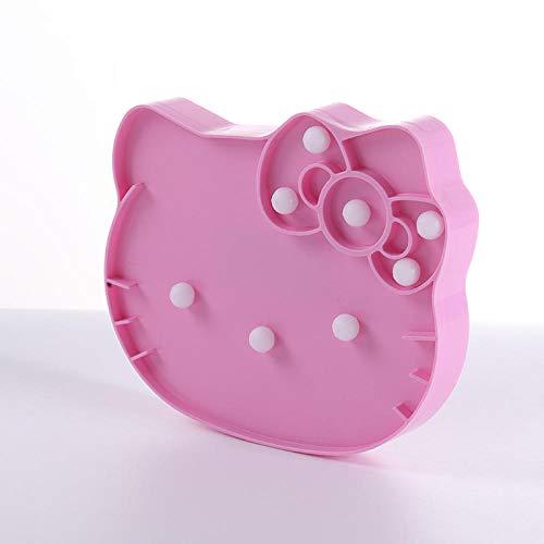 Veilleuse Led Licorne Nuit Lumière Ornements 2 Couleur Disponible Mur Bibliothèque Babyroom Décoration De Noël Présente-Pink Hello Kitty