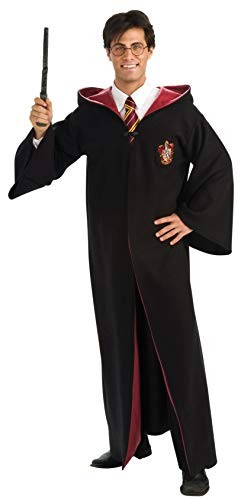 Costume Adulto Harry Potter Tunica Grifondoro De Luxe Taglia Unica