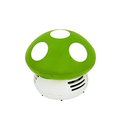 WINOMO Mini Aspirateur Nettoyer Poussière pour Table/Bureau/Coussin/Voiture (vert)