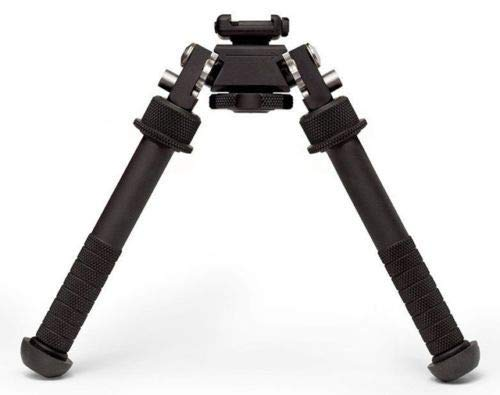 NICEFISH -Tilt 360-Degree Rotating V8 Bipod-Contraction Tactical Stretch Feet Stand Bipod Shooting Sticks for Hunting