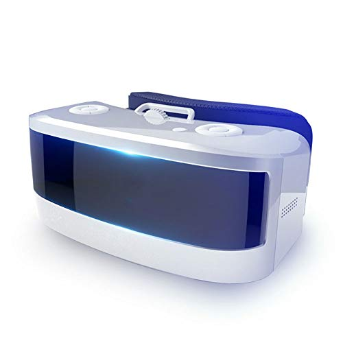 Adesign VR Headset - Universal Virtual Reality Goggles - Play Your Best Mobile Games 360 Movies with Soft & Comfortable New 3D VR Glasses