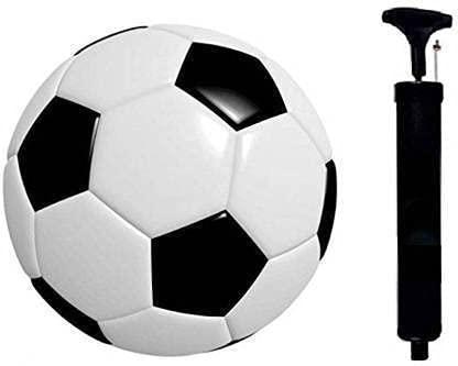 SBM Ruby Black with Pump Football - Size: 5