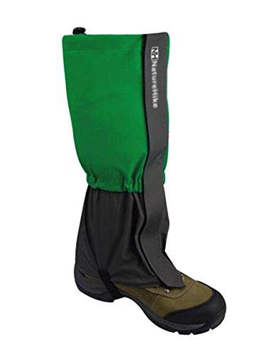 Black Temptation Randonnée/Escalade/Camping/Ski Chaussures Gaiter pour Adultes- L Vert