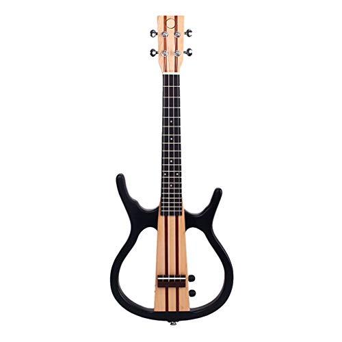 B Baosity Guitarra Eléctrica Profesional De Ukelele Tenor De 26 Pulgadas, Para...
