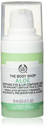 The BodyShop Aloe Soin contour des yeux et des lèvres apaisant 15 ml