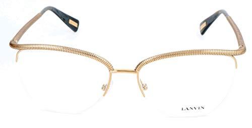 Lavin Lanvin Brillengestelle VLN059 54 16 140 Cateye Brillengestelle 54, Gold