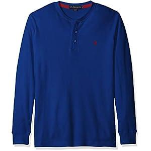 Men's Long Sleeve Thermal Henley Shirt