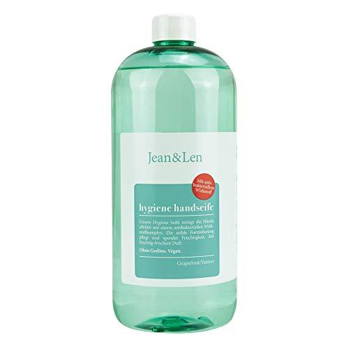 Jean & Len Hygiene Seife Grapefruit/Vetiver, 1 stück
