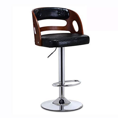 Chaises de bureau Tabouret De Bar Chaise De Dossier À Domicile Tabouret De Salon De Beauté Peut Supporter 90 Kg Rotation À 360 Cadeau