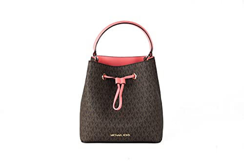 Made from the logo-print canvas, the Suri crossbody bag combines a structured silhouette with polished hardware for a luxe finishing touch. The drawstring closure opens to a spacious interior with two side pockets, so your keys, wallet and more stay ...