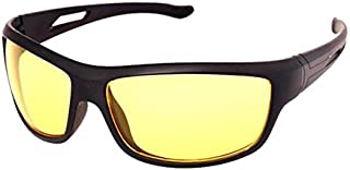 Night Day and Night Vision Driving Men's Glasses (White)