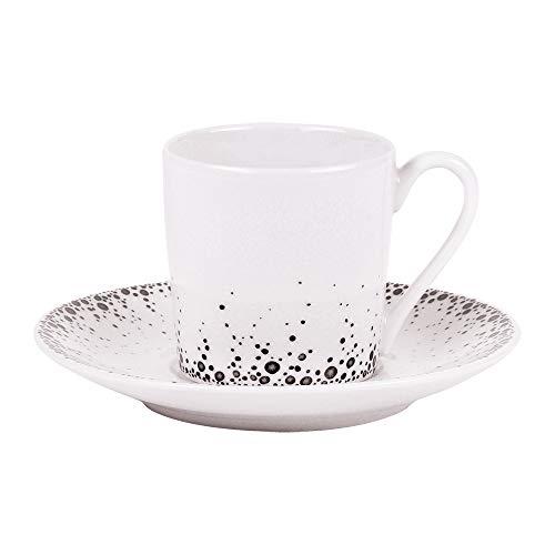 Tasse à café Boréalis gris ,Bastide diffusion