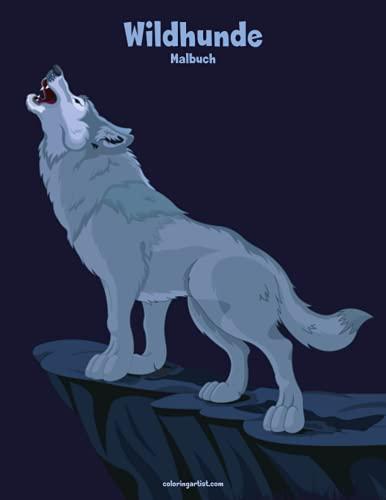 Wildhunde-Malbuch 1