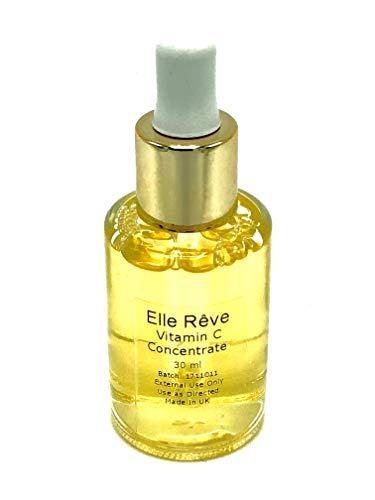 Elle Rêve mejor suero de vitamina C antienvejecimiento para la piel | Suero antiarrugas | Plump, hidrata y ilumina | 100% satisfacción