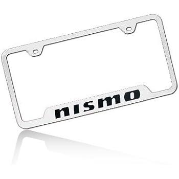 Au-tomotive Gold Nissan Juke Laser Etched Stainless Steel License Plate Frame