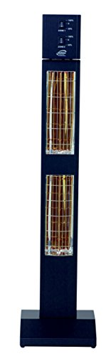 BURDA BHST3024-1 Heizstrahler 3,0 kW schw. low glare IP24 - 4