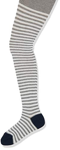 ESPRIT Unisex Kinder Easy Stripe Strumpfhose, grau (Light Grey Mel. 3390), 110-116 (3-6 Jahre)