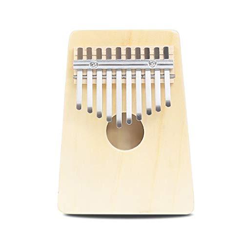 XINYALAMP 17 Tones Mahogany Vintage Kalimba Finger Piano met Tuning Hammer (kartonnen doos) retro accessoires for muziekinstrumenten, Kleur Naam: Log XINYALAMP (Color : 10 keys)